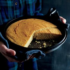 Whole-Grain Corn Bread | MyRecipes.com Medium to fine-ground cornmeal works well for this corn bread, but you can substitute a coarser grind if you prefer a heftier texture.