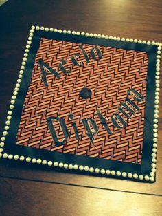 Harry Potter Graduation Cap!