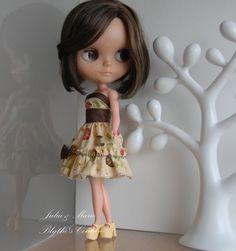 Sweet Blythe outfit sweet brown dress by juliettaexussetta on Etsy, €15.00