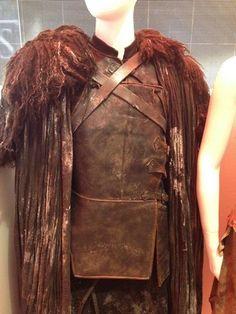 Jon Snow costume display