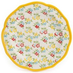 The Pioneer Woman Timeless Floral & Retro Dot Dinnerware Set Image 10 of 14 Pioneer Woman Dishes, Pioneer Woman Kitchen, Pioneer Woman Dinnerware, Kids Dinner Sets, Dinnerware Sets Walmart, Famous Recipe, Dots Design, Women Lifestyle, Plates And Bowls
