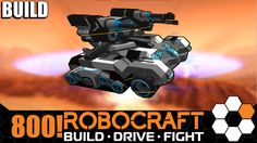Robocraft - Half Track Flak Let's Build