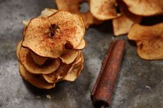 Air Fryer Apple Chips    If an apple a day keeps the doctor away, then a whole batch of Air Fryer Apple Chips must work some magic, right? Air Fryer Apple Chips are the nutritiously delicious way to ensure you don't miss out on a single fruit serving. They are so sweet and crispy, you'll just so happen to forget that expensive bag you meant to pick up in the natural section of your grocery store. Crispy food fix? Check!