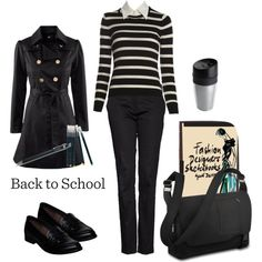 """""""No. 32 - Back to School"""" by hbhamburg on Polyvore"""