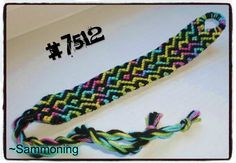 Photo of #7512 by Sammoning - friendship-bracelets.net