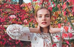 Natalia Vodianova is Love by Ryan McGinley for PORTER magazine