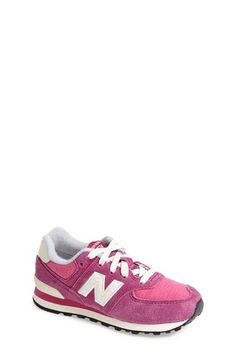 New+Balance+'574+Pennant'+Sneaker+(Walker,+Toddler,+Little+Kid+&+Big+Kid)+available+at+#Nordstrom