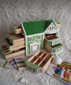 Рукотворные домики (подборка) / Арт-объекты / Своими руками - выкройки, переделка одежды, декор интерьера своими руками - от ВТОРАЯ УЛИЦА
