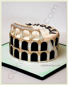 Coliseum Cake