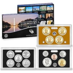 2013 S SILVER Proof Set 14 Coins Deep Cameo Brand New From US Mint -- Continue to the product at the image link.