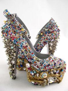 """Another view of the """"Chiquita"""" shoe"""
