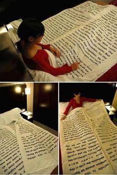 Book blanket