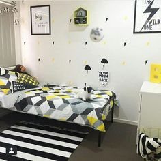 Boys Room Makeover Kmart Australia Style Twins Bedroom