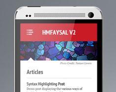 hmfaysal v2 theme