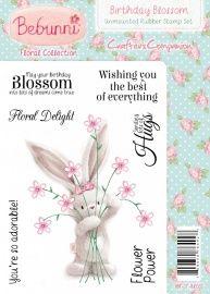 Bebunni Floral Stamp – Birthday Blossom