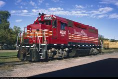 RailPictures.Net Photo: IORY 4050 Texas Northeastern Railroad EMD GP40-1 at Sherman, Texas by Pete Greischar