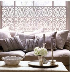 Jackie Blue Home: window treatment of the week
