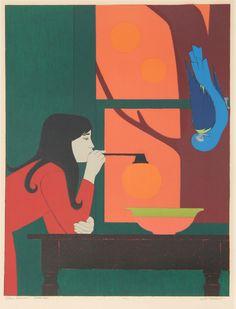 Will Barnet Artwork Details. Silent Season - Summer by Will Barnet