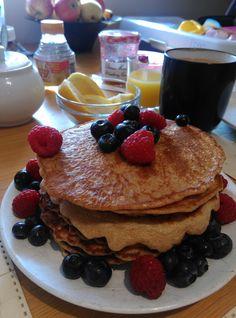 Easy like Sunday morning Spelt Pancakes Spelt Pancakes, Tasty Pancakes, Easy Like Sunday Morning, Healthy Baking, Breakfast, Food, Morning Coffee, Essen, Meals