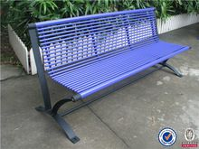 Hot sale outdoor metal bench seating