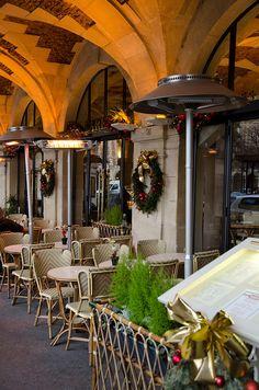 Chez Carette - Place des Vosges, Paris My friend Mimi introduced me to this place-delish quiche!