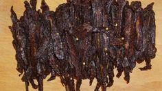 The Best Teriyaki Beef Jerky Recipe - Genius Kitchen Beef Jerky Marinade, Venison Jerky Recipe, Homemade Beef Jerky, Maple Beef Jerky Recipe, Best Beef Jerky Recipe Dehydrator, Beef Jerky In Smoker, Traeger Jerky Recipe, Teriyaki Beef Jerky Recipe Dehydrator, Oven Jerky