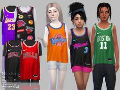 Sims 4 CC's - The Best: Frauen Kleidung / Women Clothing The Sims 4 Pc, Sims 4 Teen, Sims Cc, Sims 4 Toddler Clothes, Sims 4 Mods Clothes, Kids Clothes Boys, Sims 4 Cas Mods, Sims 4 Black Hair, The Sims 4 Cabelos