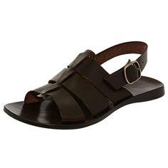 Men Sandals, Leather Sandals, Feelings Wheel, Men's Shoes, Baby Shoes, Beaded Sandals, Mens Clothing Styles, Leather Men, Baskets