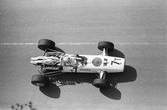 1967 Monaco GP, Monte Carlo : John Surtees, Honda RA273 #7, Honda Racing, Retired (engine, lap 37). (ph: © Schlegelmilch)