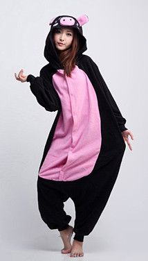 8958180955 Animal onesies are great costumes for kids and adults alike.