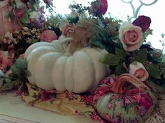 So pretty and different for fall decor.