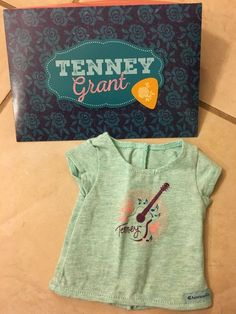 Adorable T-shirt for Tenney with her name on it and a guitar. Store exclusive item. New, never worn.   eBay!
