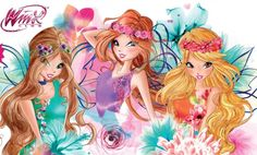 Винкс в венках Winx Fairy couture spring