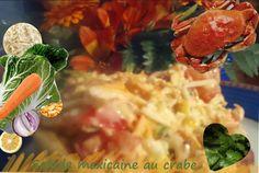 Recette de salade mexicaine au crabe (ou surimi), céleri, maïs, chou chinois, citron, tomates, oignon rouge (Mexique).Une salade composée, complète, gourmande multi légumes, garantie bien fraîche et gourmande... Nous l'avons servie dans un saladier qui se mange : une tortilla en forme de coupelle, frite. Tout se déguste, un véritable régal de saveurs à partager en pique-nique, repas champêtre, en lunchbox ou bento..