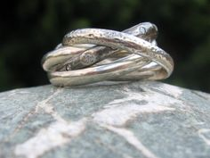 Rolling Ring russian wedding ring sterling silver  by Lanka925, $172.00  want!