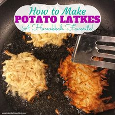 How to Make Potato Latkes | Recipe from Lake Life State of Mind - #potatolatkes - How to Make Potato Latkes | Recipe from Lake Life State of Mind...
