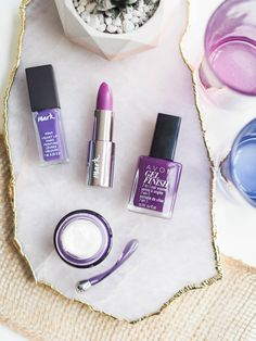How to Wear Ultra Violet, the Pantone Color of the Year. Blogger, A Certain Romance, reviews some of our Avon and mark. purple beauty favourites