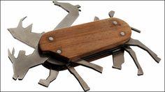 十徳ナイフっぽくいろいろな動物が出てくる「Animal Pocket Knife」 - GIGAZINE