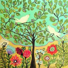 Day of Peace Painting - Day of Peace Fine Art Print