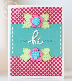 Card by PS DT Kalyn Kepner using PS Needle Little Love stamps/dies