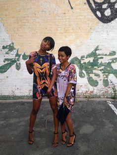 via   fckyeahprettyafricans:      Botswana & South Africa     IG:@laonecake & @Catherine