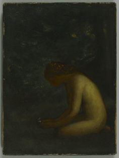 Psyche - Arthur B. Davies, c.1906-1908