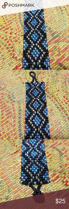 New Czechoslovakian Glass Bead Bracelet New Czechoslovakian Glass Bead Bracelet Czechoslovakian Jewelry Bracelets