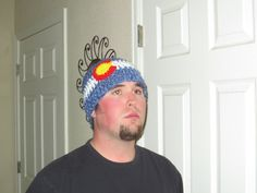 Colorado Flag Hat  Colorado  Colorado Proud by BitchinBagsbyBenita, $30.00 ready to ship super warm
