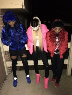 just fucking fllw me Cute Swag Outfits, Dope Outfits, Girl Outfits, Fashion Outfits, Urban Outfits, Matching Outfits Best Friend, Best Friend Outfits, Bff Goals, Best Friend Goals