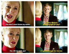Mary and John Watson. I CAN'T EVEN BEGIN.