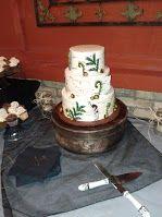 Birch Bark Wedding Cake Danish Bakery, Buttercream Icing, Birch Bark, Beautiful Wedding Cakes, Yummy Cakes