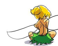 Awww sad Tink <3