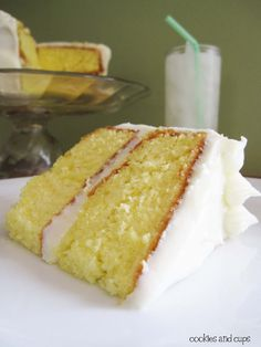 lemonade cake with lemon cream cheese frosting-and it uses a cake mix!