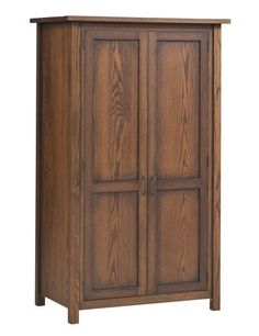 Amish Mountain Lodge Wardrobe with Rod